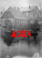 1920 Hochwasser Überschwemmung Sachsen ? Elbe ? Rhein ? - Inondations