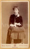 Photo-carte De Visite / CDV / Woman / Femme / Photo Mons George / Bedford / England - Fotos
