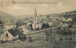 57 - MOSELLE - Blick Auf Alberschweiler Mit Der Protestantischen Kirche - Autres Communes