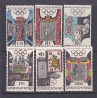 1968 Mexico Czechoslovakia Olympic Set MNH - Summer 1968: Mexico City