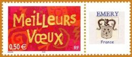 France**LUXE 2003 Personalisé 3623A Photo, Meilleurs Vœux Pour Entreprise - Francia