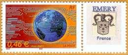 France**LUXE 2002 Personalisé 3532A Photo, Le Monde En Réseau - Personalized Stamps
