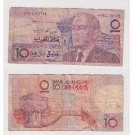 10  DIRHAMS N° 100168 - Maroc