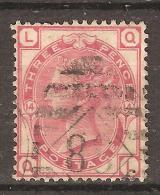 GB Victoria 1873, N° 51 , 3 Pence Rose,    O , Pl 14  , Value 35 Euros TB - 1840-1901 (Viktoria)