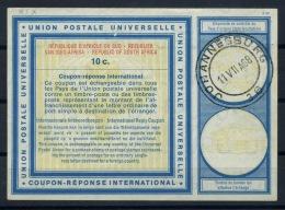 SOUTH AFRICA Vienna Type XIX  10c.  International Reply Coupon Reponse Antwortschein  IAS IRC  O JOHANNESBURG 11.7.68 - Briefe U. Dokumente