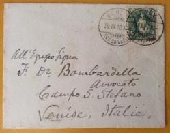 SVIZZERA 1898 BUSTINA DA GINEVRA A VENEZIA - Svizzera