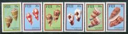 Fiji 1987 Cone Shells Of Fiji Set LHM - Fiji (1970-...)