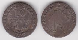 10 CENTIMES NAPOLEON 1er 1809 M En Billon   (voir Scan) - Francia