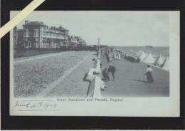 Angleterre - Sussex - Bognor - West Mansions Andparade , Bognor - Precurseur - Bognor Regis