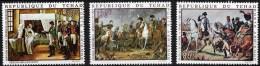TCHAD, NAPOLEON, BICENTENAIRE DE LA NAISSANCE DE NAPOLEON - N° Yvert POSTE AÉRIENNE 61/63** MNH - Napoleon