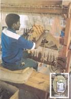 18666. Tarjeta Maxima MALTAHÖNE (SWA)  1986. Industria Karakul Swakara - África Del Sur (1961-...)