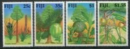 Fiji 1990 Timber Trees Set LHM - Fiji (1970-...)