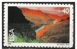 Stati Uniti/États-Unis/United States: Fiume Rio Grande, Rivière Rio Grande, Rio Grande River - Géographie