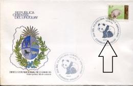 11059  Uruguay, Fdc 1993  WWF, - FDC