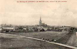 CPA- LOIGNY-la-BATAILLE (28) - Aspect Du Bourg Relevé De Ses Ruines Au Début Du Siècle - Loigny
