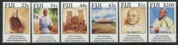 Fiji 1994 150th Anniversary Of Arrival Of Catholic Missionaries In Fiji Set MNH - Fiji (1970-...)