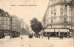 PARIS AVENUE DE LA REPUBLIQUE (TRAMWAY ) - Distretto: 11