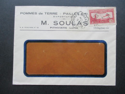 Frankreich 1933 Michel Nr. 251 Flugpostmarke. Pommes De Terre / Kartoffeln - Frankreich