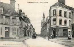 CPA- MORTAGNE (61) - Aspect De La Rue D'Alençon En 1918 - Mortagne Au Perche
