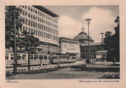 München - Karlsplatz Von Der Sonnenstrasse - 1958 - Muenchen