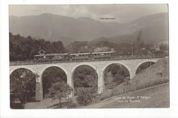 14980 - Ligne De Nyon St-Cergue Pont De Givrins Train - Cartes Postales