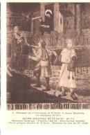 Religion Et Esotérisme-Eglise Abbatiale De St-Savin-Abondance De Lait Pour Gaudentia-Peinture Sur Bois Du XVe Siècle - Religion & Esotérisme