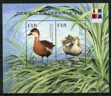 Fiji 1999 IBRA '99 Stamp Exhibition - Ducks MS MNH - Fiji (1970-...)