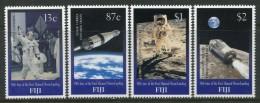 Fiji 1999 30th Anniversary Of First Manned Moon Landing Set MNH - Fiji (1970-...)