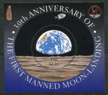 Fiji 1999 30th Anniversary Of First Manned Moon Landing MS MNH - Fiji (1970-...)