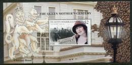 Fiji 1999 Queen Elizabeth The Queen Mother´s Century MS MNH - Fiji (1970-...)