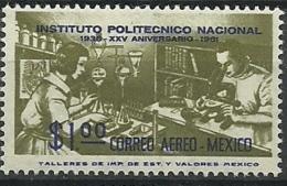 MEXICO ** MNH AEREO 1962  Mi:MX 1119, Sn:MX C261 - Mexico
