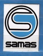 Adesivo Pubblicitario -   SAMA .  Cm. 7,5 X 5,5.    Vedi Descrizione - Stickers