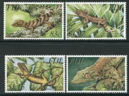 Fiji 2003 Geckos Set MNH - Fiji (1970-...)
