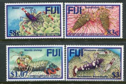 Fiji 2004 Coral Reef Shrimps Set MNH - Fiji (1970-...)