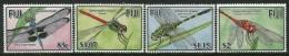Fiji 2005 Dragonflies Set MNH - Fiji (1970-...)