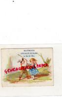 CHROMO - 60- SENLIS- SPECIALITE DE BLANC- RAYMOND GENDRE- 44 RUE DE L' ECU-BOULOGNE SUR MER - - Chocolat