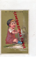 CHROMO -75- PARIS- PYGMALION-GRANDS MAGASINS NOUVEAUTES-BD SEBASTOPOL-RUE RIVOLI-ST DENIS-INONDATION ENFANT - Unclassified