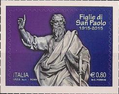 2015 Italien Mi. 3802 **MNH    100 Jahre Paulus-Schwestern (FSP) - 6. 1946-.. República