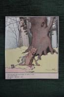 Le Loup Pris Au Piège , Illustration De Benjamin RABIER - Animaux