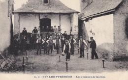 CPA - PYRENEES - Les Joueurs De Quilles. - Midi-Pyrénées
