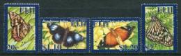 Fiji 2007 Butterflies Set MNH - Fiji (1970-...)