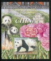 Fiji 2009 60th Anniversary Of The Peoples Republic Of China - Panda MS MNH - Fiji (1970-...)