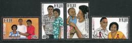 Fiji 2011 HIV AIDS Prevention In Fiji Set MNH - Fiji (1970-...)