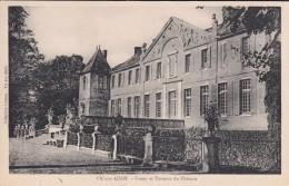 G , Cp , 02 , VIC-sur-AISNE , Fossés Et Terrasse Du Château - Vic Sur Aisne
