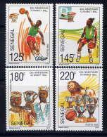 SENEGAL - 947/950** - CENTENAIRE DU BASKET-BALL - Senegal (1960-...)