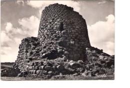 N2713 CARTOLINA  Nuoro  - NURAGHE _ VIAG 1956_ Archeologia, Archeologie, Archeology - Nuoro