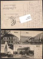 105067,RAR Wojkowitz Vojkovice U Zidlochovic Schule Mühle Wirtshaus Mähren - Ansichtskarten