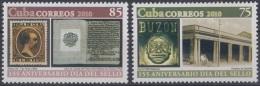 2010.405 CUBA 2010 MNH 155 ANIV DEL CORREO INTERIOR. DIA DEL SELLO. INTERNAL MAIL. POSTAL HISTORY - Unused Stamps