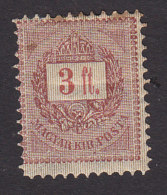 Hungary, Scott #35, Mint Hinged, Crown Of St Stephen, Issued 1888 - Hungary