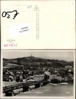 106690,Linz A.d. Donau Blick Nach Urfahr Brücke - Österreich